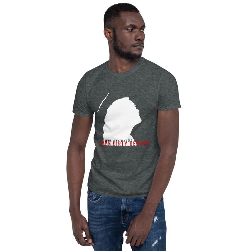 """""""Damn Dirty Demons"""" Unisex T-Shirt - white logo"""