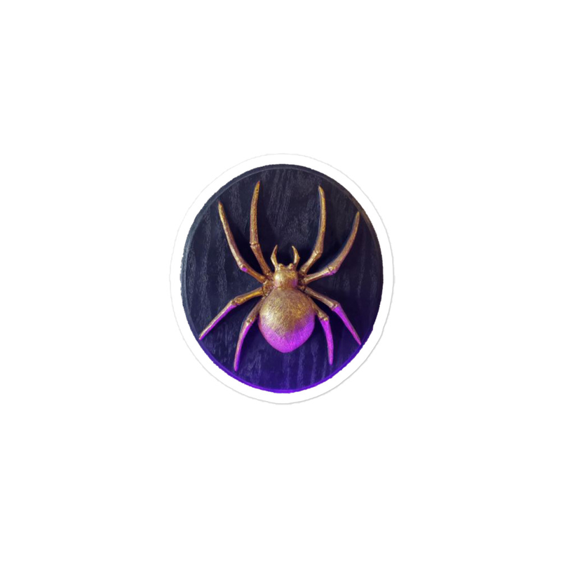 Golden-Spider - Bubble-free stickers