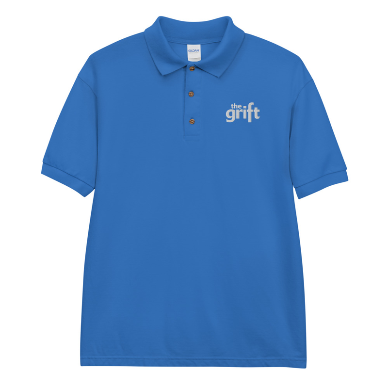 Embroidered Polo Shirt - Classic Logo