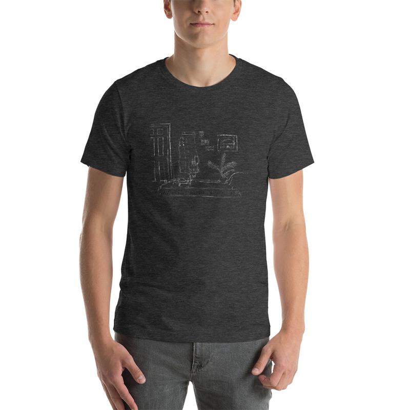 "Short-Sleeve ""Corner"" Unisex T-Shirt"