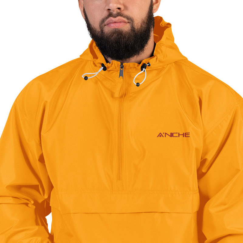 A'niche Embroidered Champion Packable Jacket