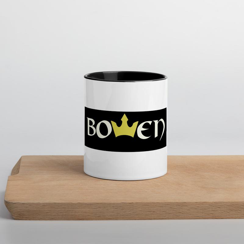 BOWEN Crown Mug with Color Inside
