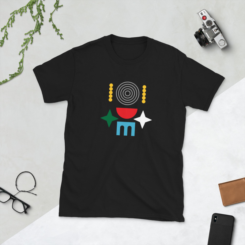 Abstract Design Short-Sleeve Unisex T-Shirt