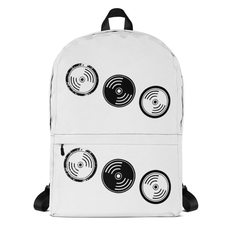 Backpack - White Vinyl