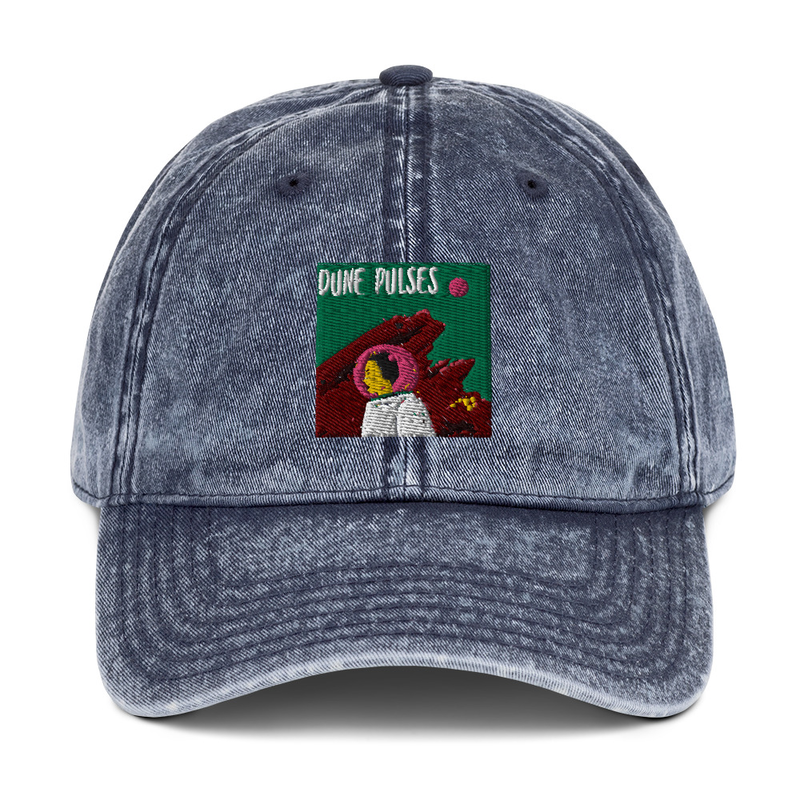 Vintage Cotton Twill Cap (Dune Pulses - Astronaut)