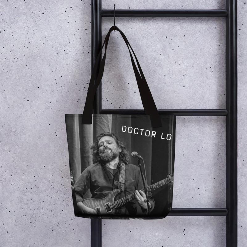 Doctor Lo & Ol' TP Classy B+W Tote Bag