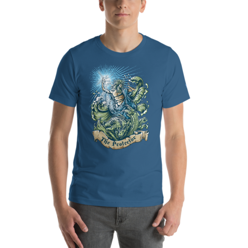 The Protector Unisex T-Shirt mockup