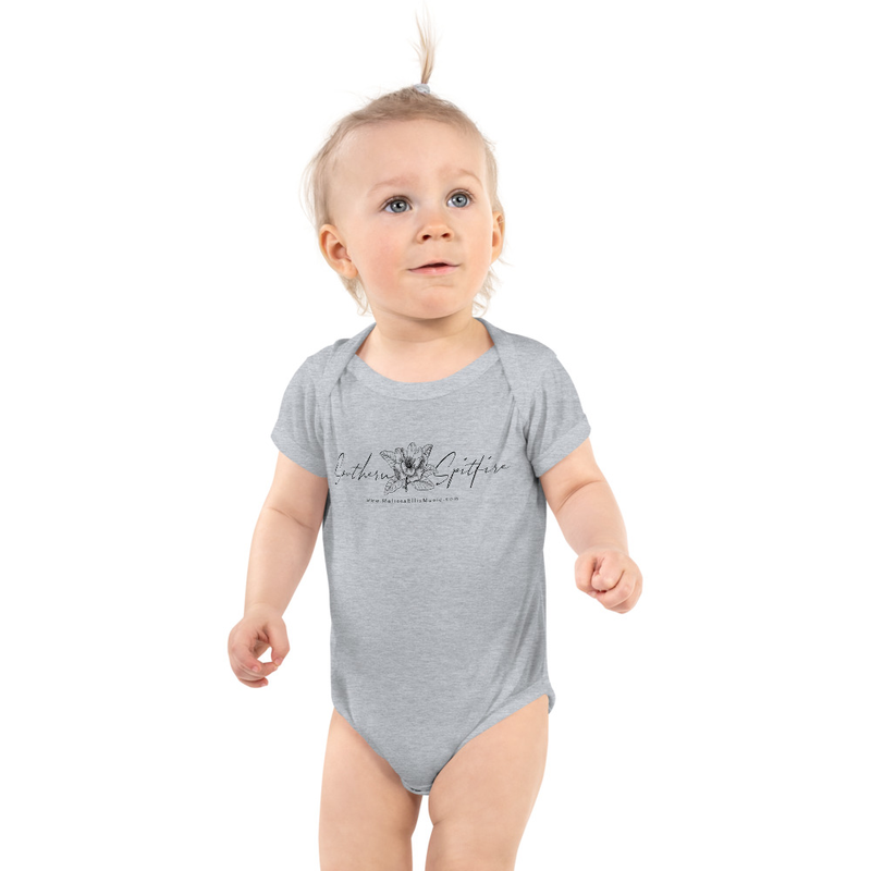 Southern Spitfire - baby onesie