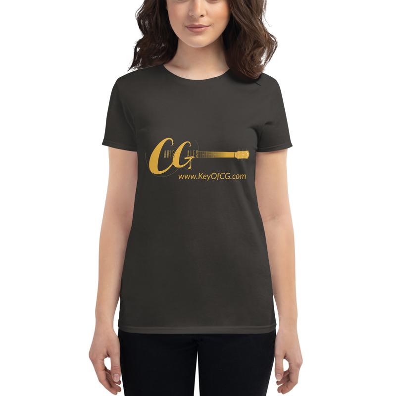 Chris Gales Women's Fashion Fit short sleeve t-shirt (Choose Color)