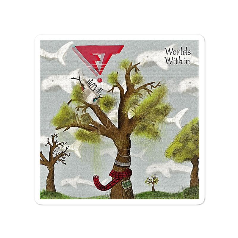 Worlds Within sticker
