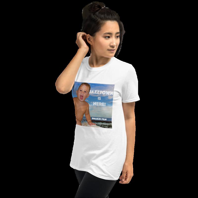 JAZZTOWN IS HERE! Unisex T-Shirt
