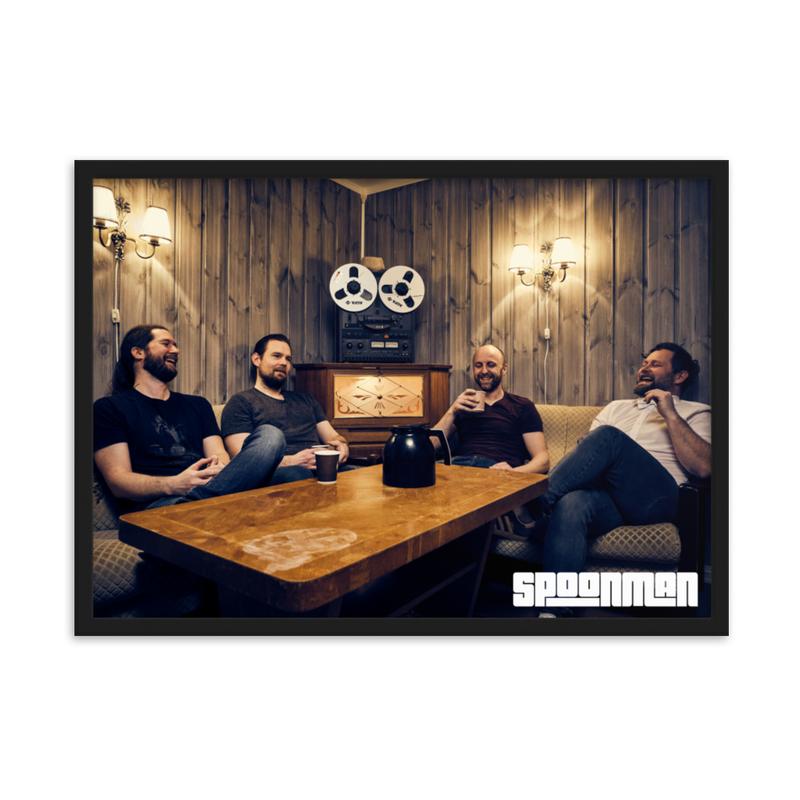 sPoonman Framed matte paper poster