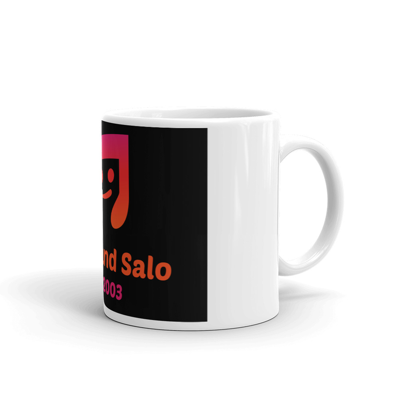 Barb and Salo Smiley Note Logo
