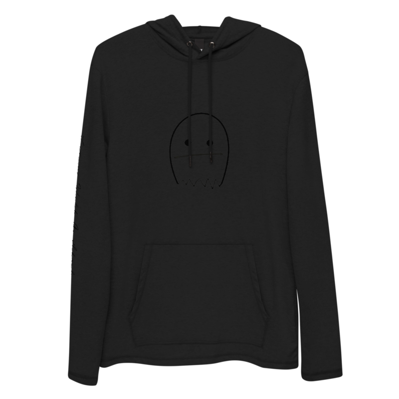 """Living With a Ghost"" Unisex Lightweight Hoodie"
