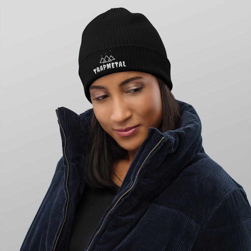 Origins Of Orion Icon Organic ribbed beanie