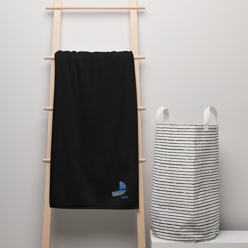 """Marooned"" Turkish cotton towel"