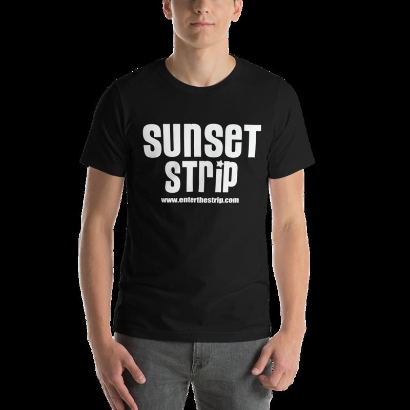 """Short-Sleeve Unisex """"Biker Patch Logo"""" T-Shirt"""