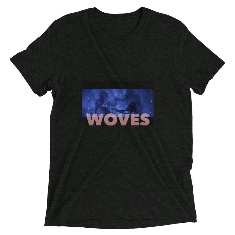 Short sleeve t-shirt (Woves - Astronauts blue)