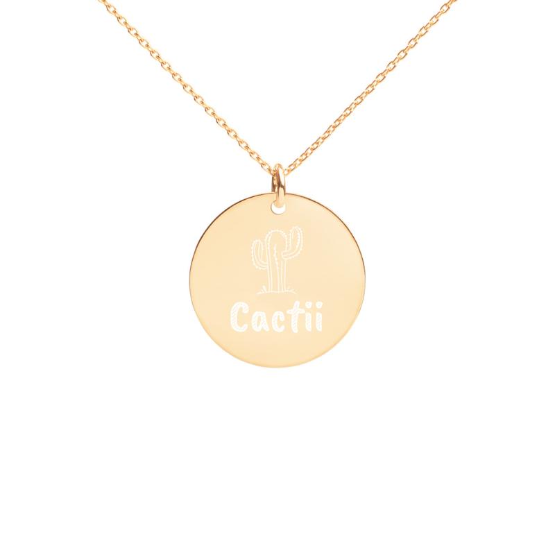 Cactii Necklace