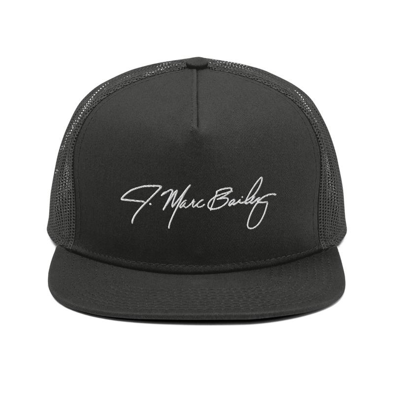 J. Marc Bailey Signature Mesh Back Snapback