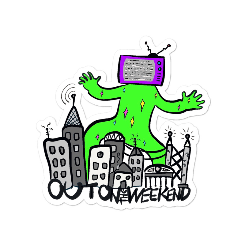 TV Monster Sticker