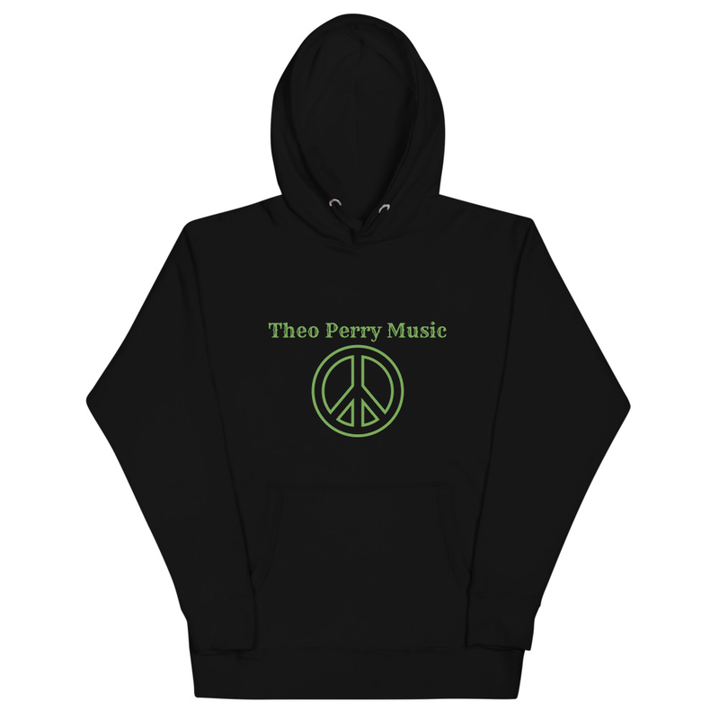 Unisex Hoodie Theo Perry Music Green Peace