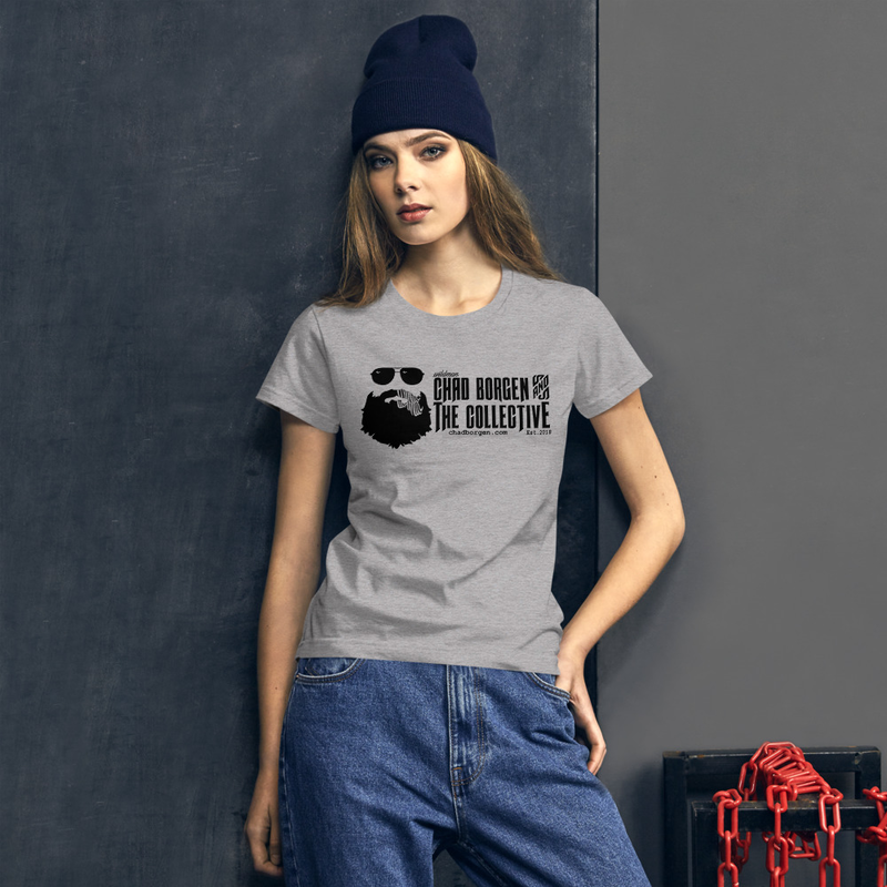 Women's Chad Borgen & The Collective Logo Tee