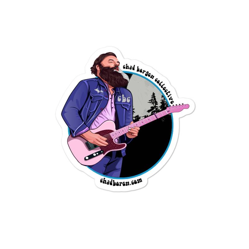 CBC Guitar Sticker