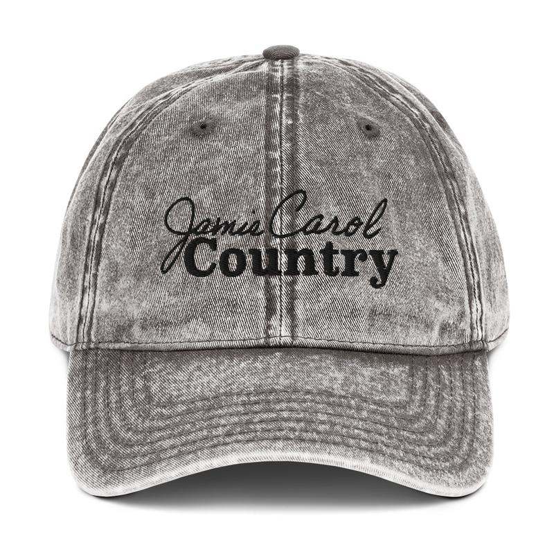 Vintage Cotton Cap (Charcoal)
