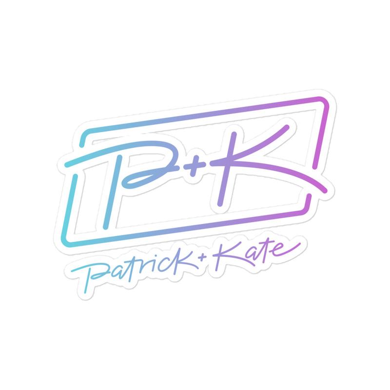 PK Logo Sticker