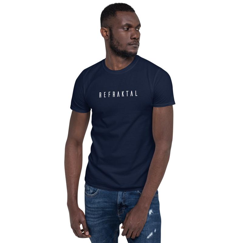 Refraktal Unisex Shirt (Black, Blue or Dark Gray)