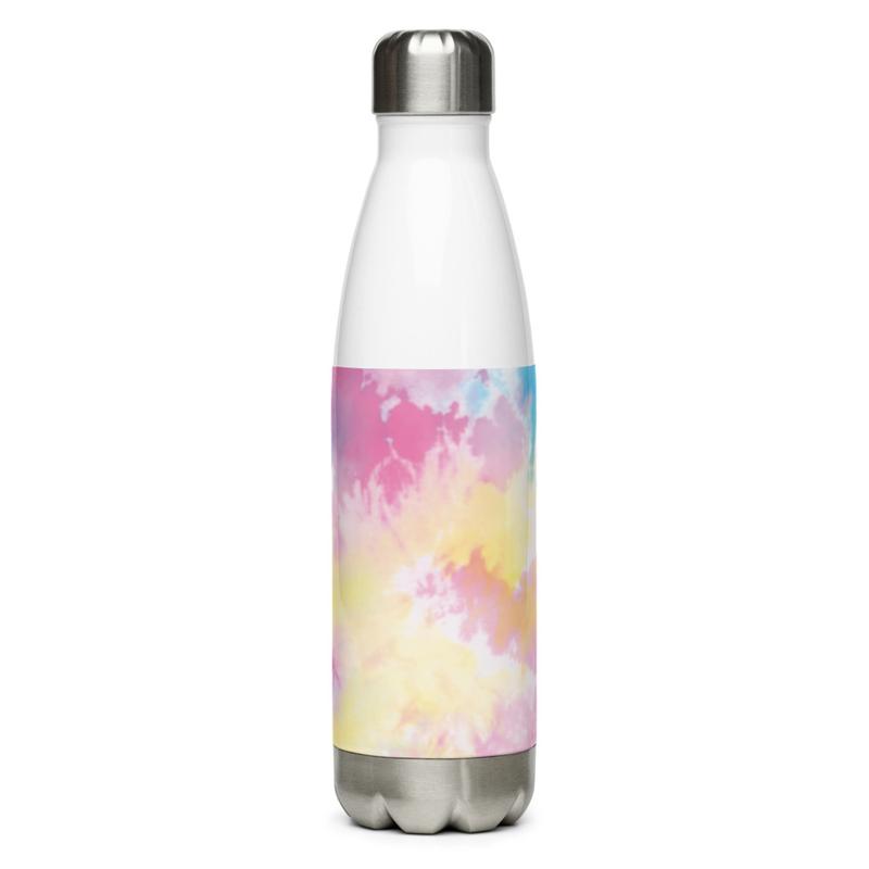Tye-Dyed Stainless Steel Water Bottle