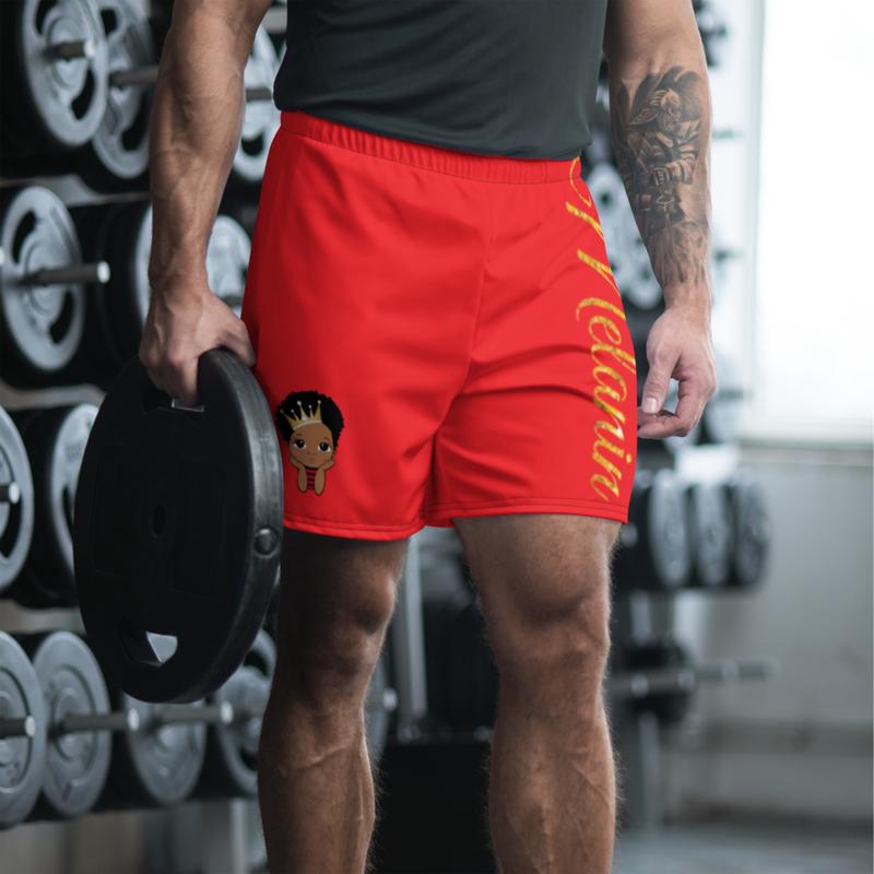 Prince Melanin Men's Athletic Long Shorts