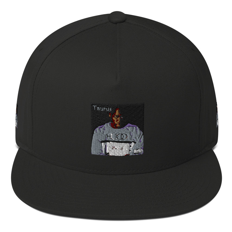 Prison Art Flat Bill Cap