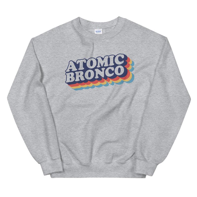 Atomic Bronco Color Logo Sweatshirt