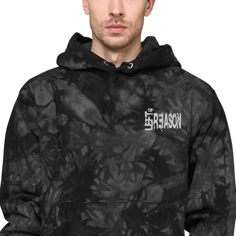 LOR Unisex Champion tie-dye hoodie