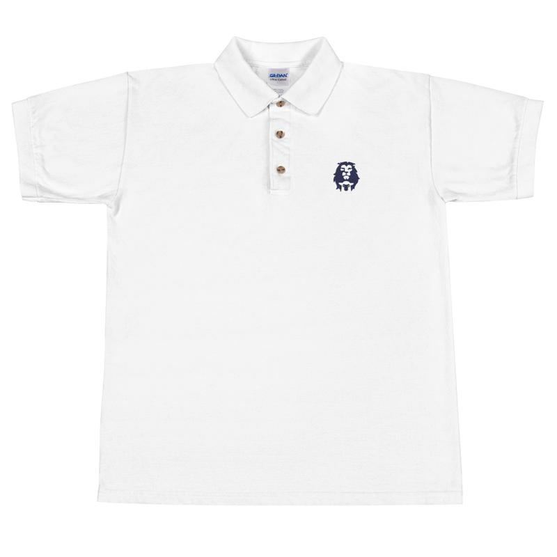 Lion & Lamb Embroidered Polo Shirt