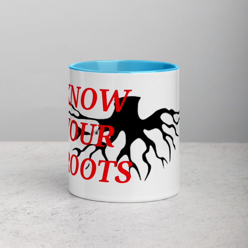 Know Your Roots - Mug with Color Inside