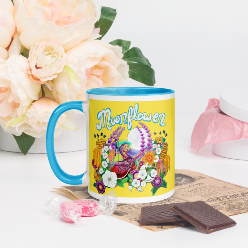 Moonflower Mug