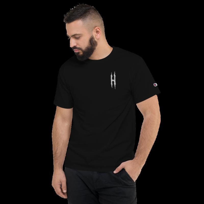 HONESTGANG/Champion Embroidered T-Shirt
