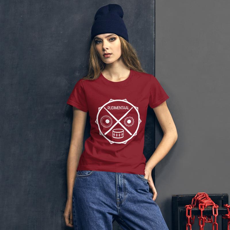 RUDIMENTAAL Women's short sleeve t-shirt