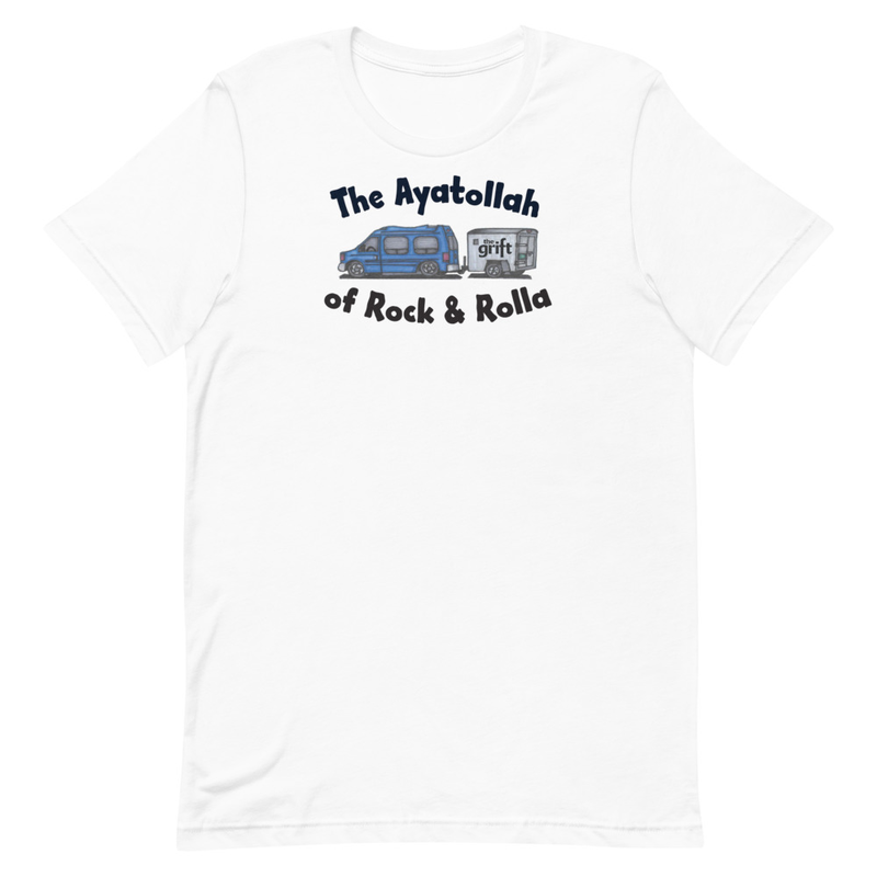 Short-Sleeve Unisex T-Shirt - The Ayatollah of Rock & Rolla