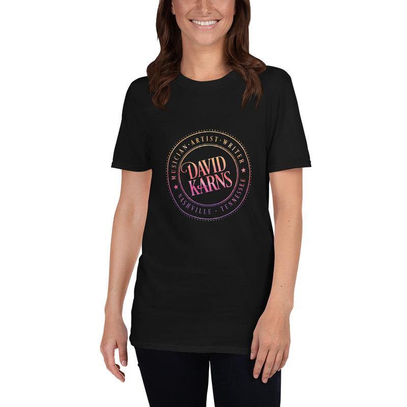 Short-Sleeve Unisex T-Shirt - Rainbow Logo
