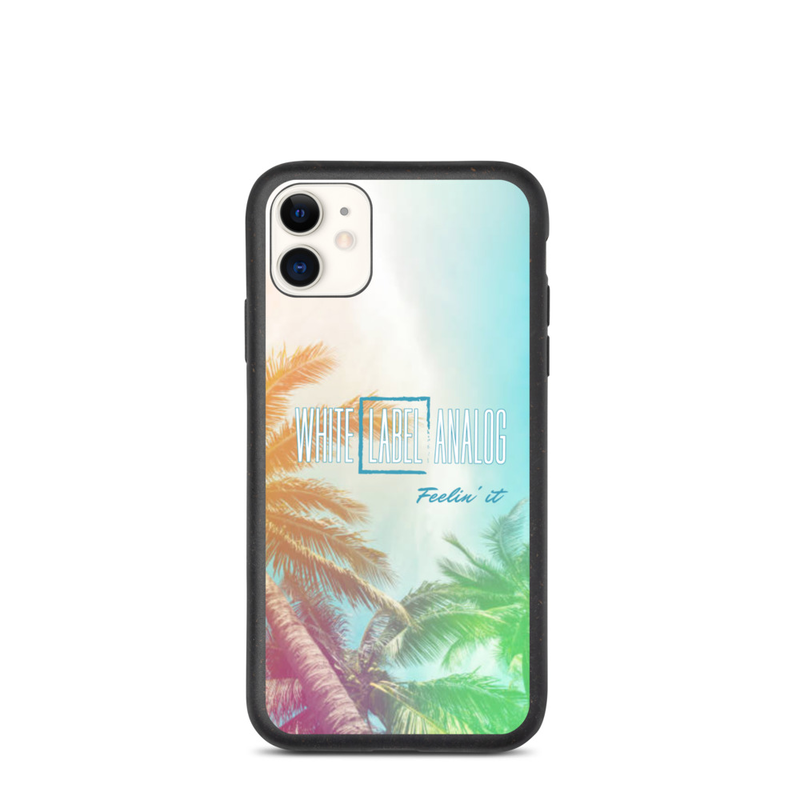 WLA Feelin' it - Biodegradable iPhone Case (Horizontal Logo)