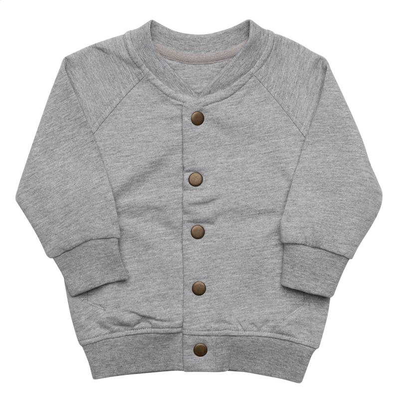 LAWYAL VIBEZ Baby Organic Bomber Jacket