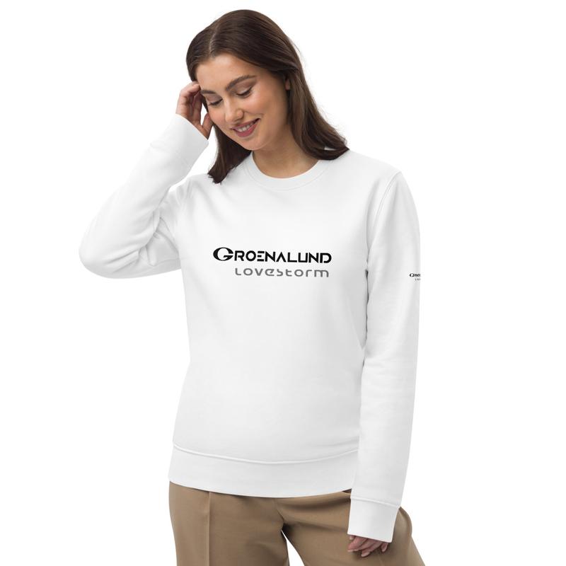 "Unisex eco sweatshirt ""lovestorm"""