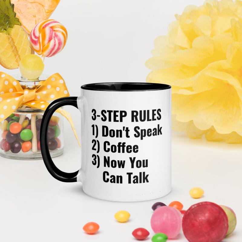 COFFEE-1st - Mug with Color Inside