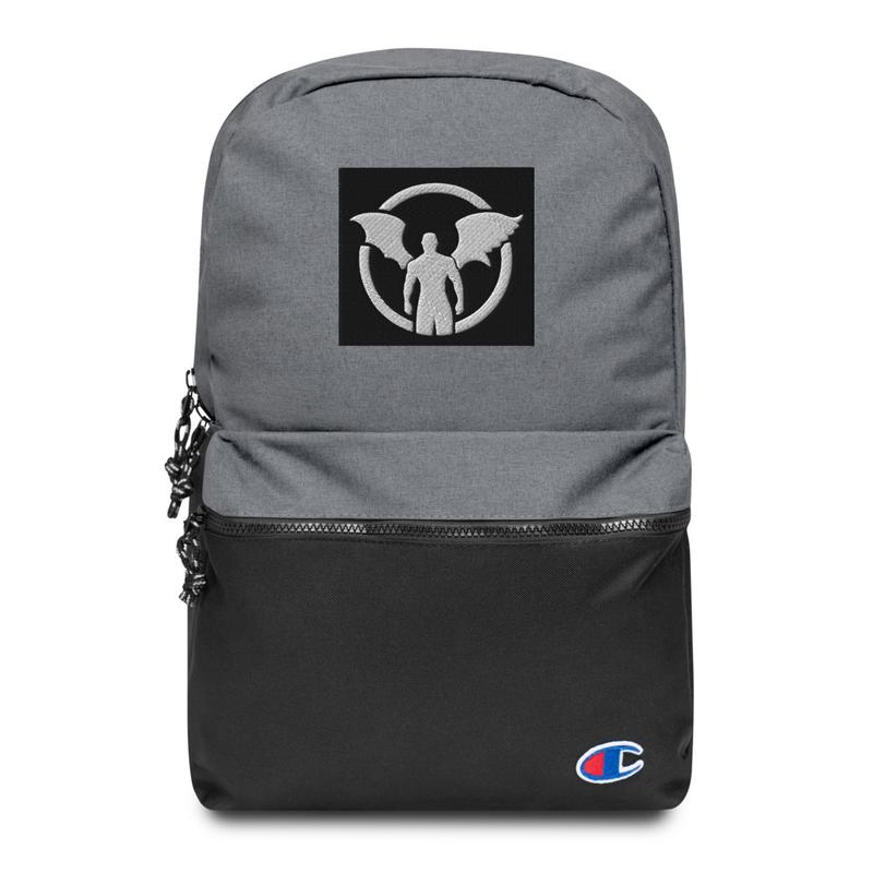 """TD"" Standing Man Logo Champion Backpack"