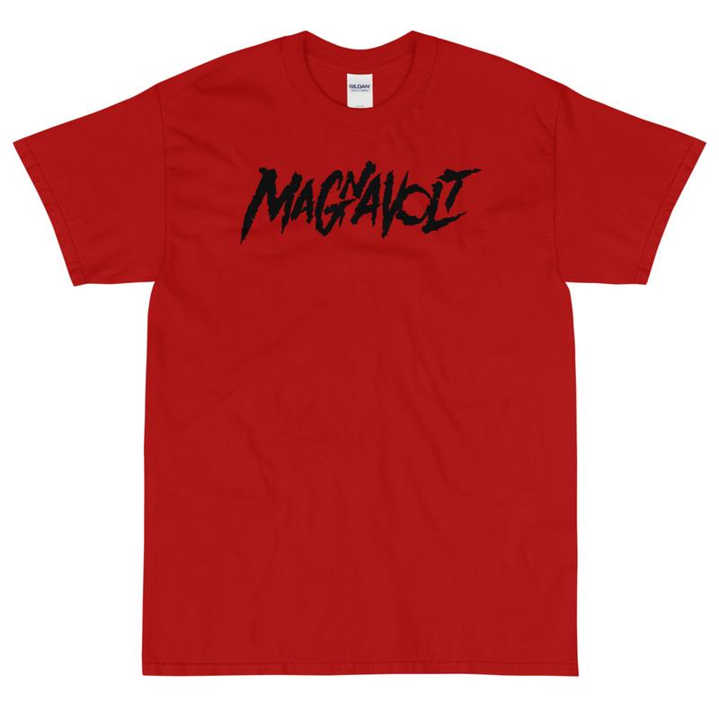 Magnavolt Red T-Shirt with black Logo