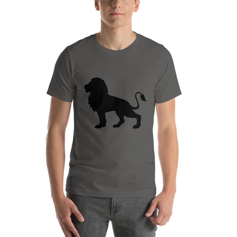 Casanova Lion Silhouette Short-Sleeve Unisex T-Shirt
